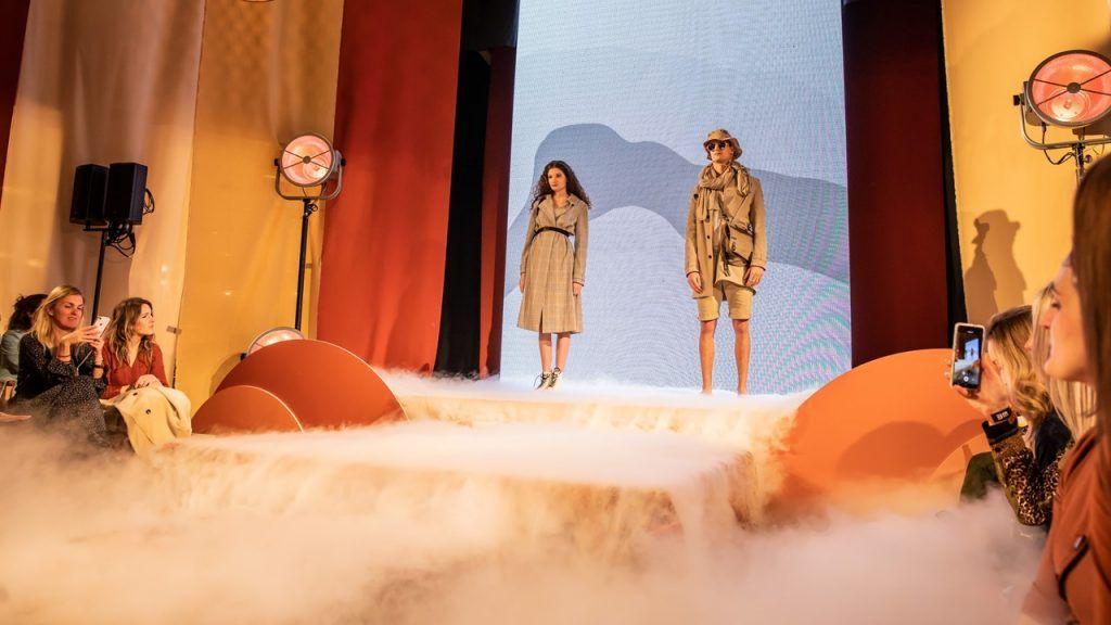 Special FX tijdens fashionshow door RentFX