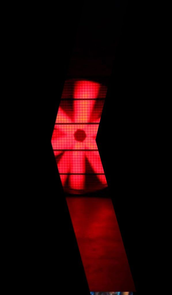 LED Stage blower