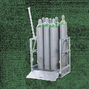 Krat: 12x CO2 Cilinder/fles F30 liter – 50 seconden